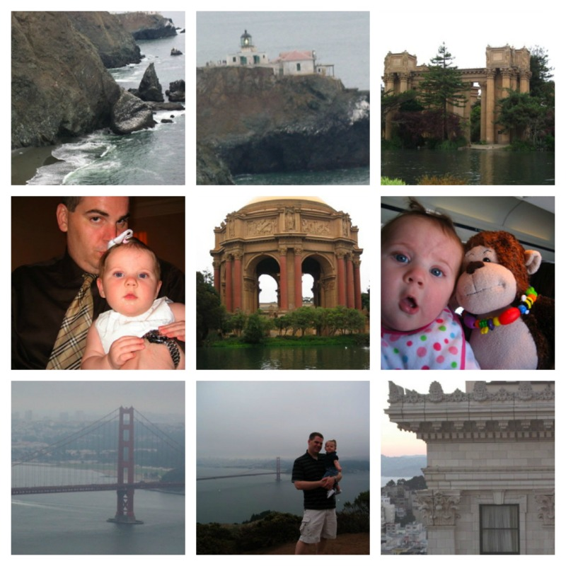 san francisco with an infant