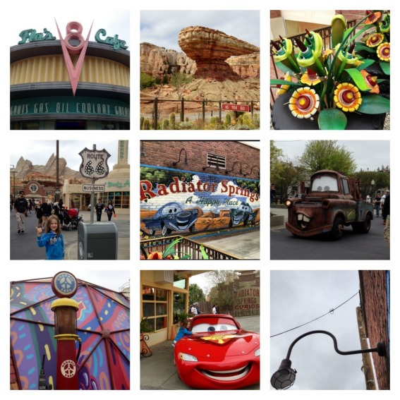 Cars Land Opening Jet-Set Family