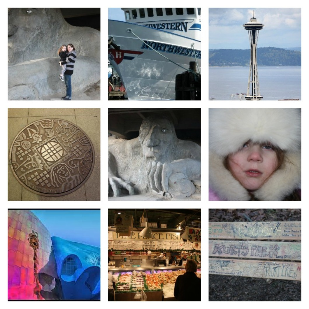 The Jet-Set Family Seattle Scavenger Hunt